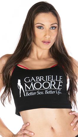 model for Gabrielle Moore's Flirty Fingers